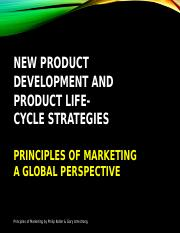 6 New Product Development and Product Life-Cycle Strategies
