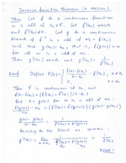 Analytic and Harmonic Function Lecture