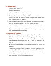 Unit Three text questions
