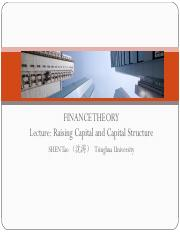 Lecture 4- Raising Capital and Capital Structure.pdf