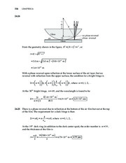 14_Chapter 24 HomeworkCH24 Wave Optics