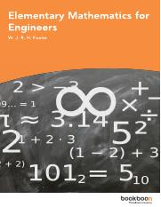 Elementary Mathematics for Engineers.pdf