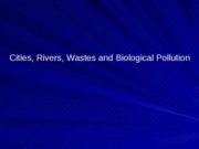 25 Biological Pollution Pathogens