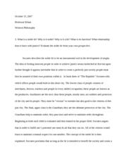 noble a summary essay