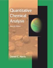 Quantitative Chemical Analysis ) Daniel C. Harris - zaki