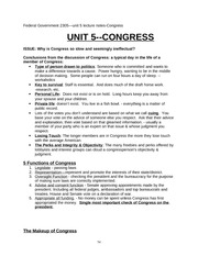 UNIT5Federal Government Class Notes