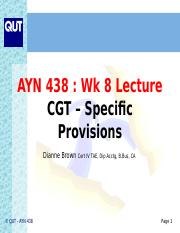 Lecture 8 Specific CGT(1).ppt