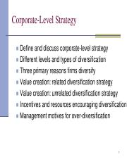 Corporate Strategy Explained