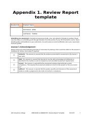 Appendix 1. Review Report template V2.0419.docx