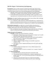 ITM 350-midterm notes
