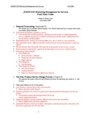 HA2243 Fall 2009 Final Study Guide