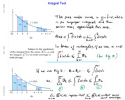 Math 104 Ch10 Integral & Comparison Test