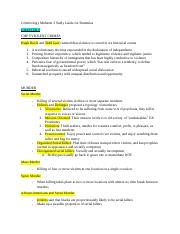 Criminology Midterm 2 Study Guide for Dummies