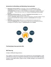 Notes - Integrated marketing communication.pdf