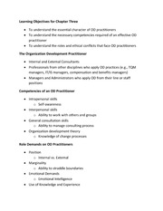 MOR 463 - Lecture notes - Ch. 3