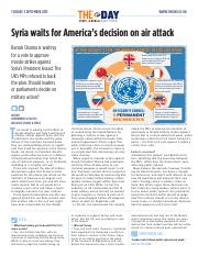 1868 Syria waits for America�s decision on air attack