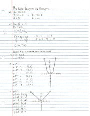 Pre-Calculus Section 1.6 Practice Problems