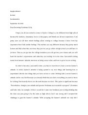 Writing letter  revised