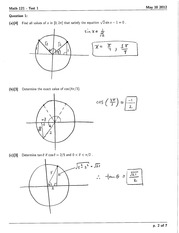 Math 121 Test 1 Version 2 Solutions