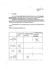 CSC 349 2005 Midterm Solutions