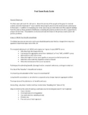 Final Exam Study Guide [Fall.12]