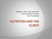 Nutrition-