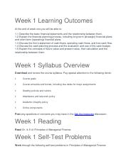 HOMEWORK ASSIGNMENTS Weeks 1-6.docx