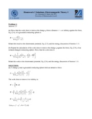 Homework C Solutions on Graduate Electromagnetics