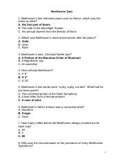 Beethoven Quiz.doc