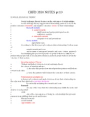 CHFD 3930 NOTES pt 10