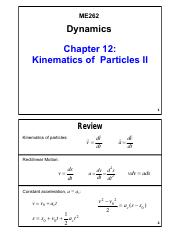 Chapter 12 - Kinematics of Particles II_V01
