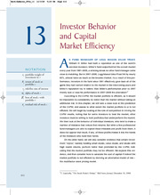 Berk-DeMarzo_CF2e_13--Investor%20Behavior