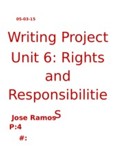Jose´s project