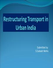 transportation in india.ppt