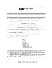 Chapter 5 Homework Solution