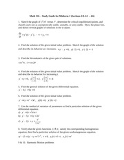 Midterm 2 Study Guide - winter 2015 (1)