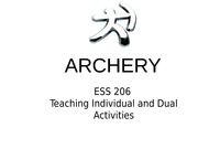 Archery: STUDENT project