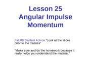 L25-Angular Impulse Momentum_1