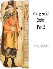 2.2 - Viking Social Order Part 2.pptx