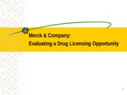 135568250-Merck-Company-Evaluating-a-Drug-Licensing-Opportunity-Pgp-2012