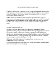 INSTRUCTIONS FOR THE ALLIANT HOSPITAL SYSTEMS CASE.docx