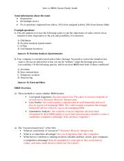 HR STUDY GUIDE EXAM 1.docx