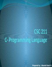 C programing Lecture 1.pptx