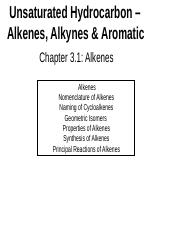 Chapter 3.1 Alkenes.ppt