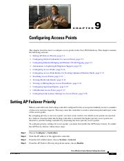 configuration access point