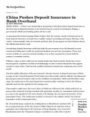 Bradsher (2012) China Pushes Deposit Insurance in Bank Overhaul, The New York Times.pdf