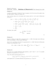 Solutions of Homework 8