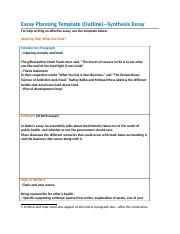 Essay Planning Template--Synthesis.docx