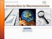 1 - Introduction to Macroeconomics_Session 1