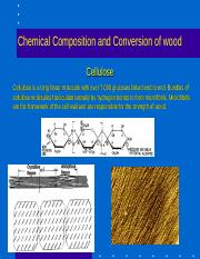 Chemical Composition and Conversion